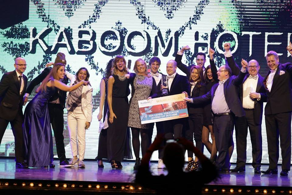 Best Hotel Concept 2015 is Kaboom Hotel