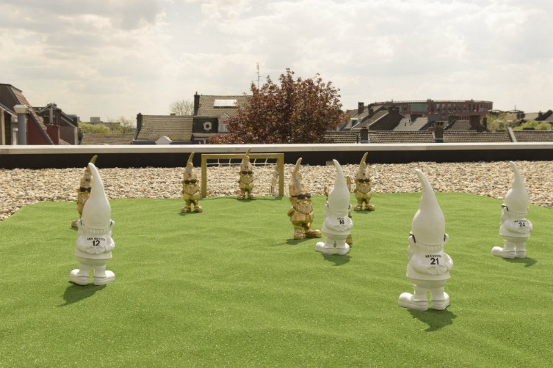 voetbal champions league kaboom hotel kabouters Gnome League 1