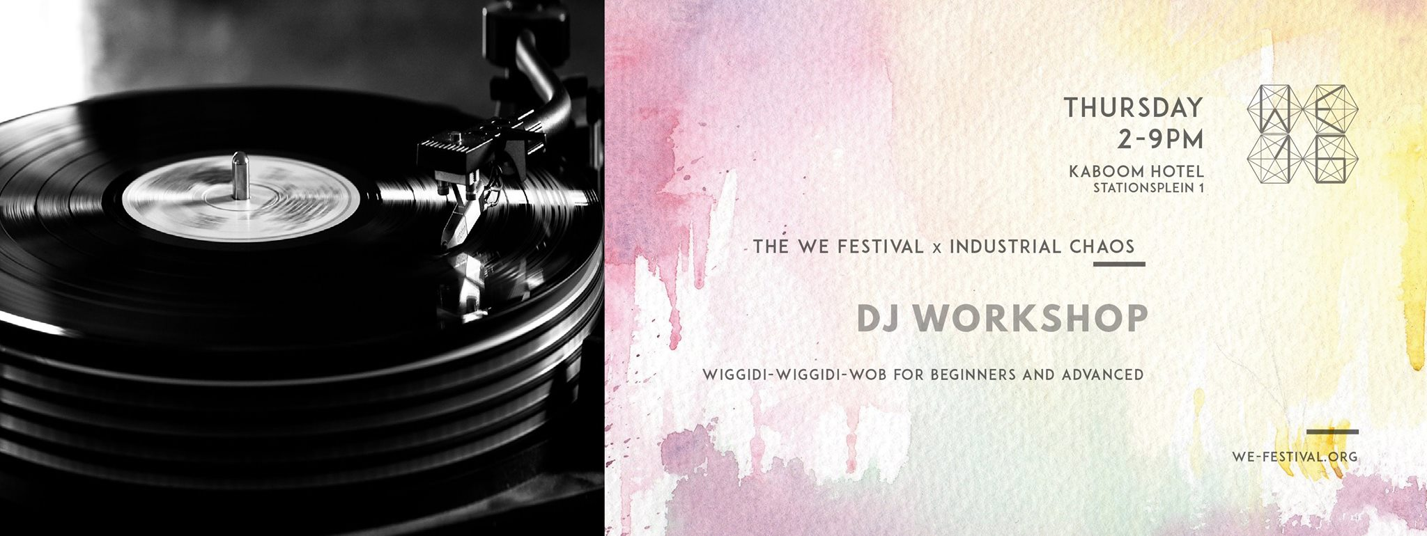 we festival dj workshop